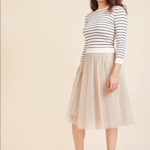 English Factory tulle dress